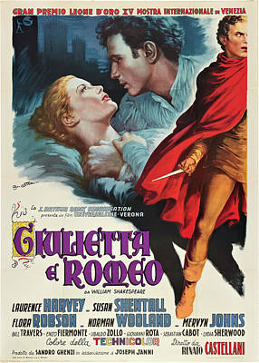 Royalty-Free and Rights-Managed Images - Romeo and Juliet, 1954 by Stars on Art