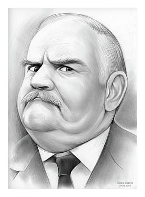 Drawings Royalty Free Images - Ronnie Barker - Pencil Royalty-Free Image by Greg Joens