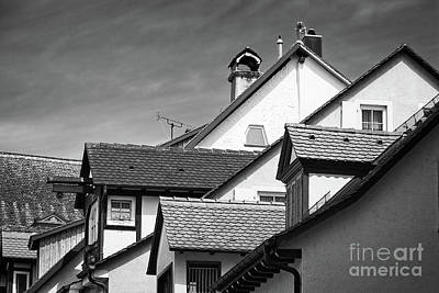 Spot Of Tea Royalty Free Images - Roof Lines Royalty-Free Image by Paul Quinn
