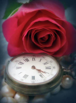 Have A Cupcake - Roses And Time Fade But Pearls Memories And Love Can Last Forever by Johanna Hurmerinta