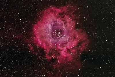 Photograph - Rosette Nebula by Willard Sharp