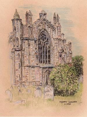 Pastel - Rosslyn Chapel by Stephany Elsworth