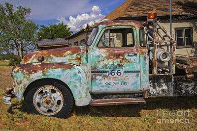 Chris Walter Rock N Roll - Route 66 Towing by Mitch Shindelbower