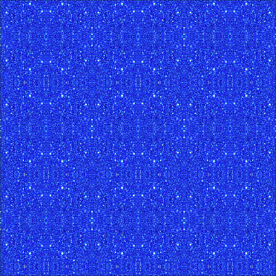 Digital Art - Royal Blue Design by Debbie Smith