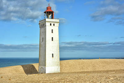 Royalty-Free and Rights-Managed Images - Rubjerg Knude Lighthouse X by Joachim G Pinkawa