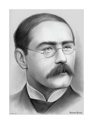Drawings Rights Managed Images - Rudyard Kipling Royalty-Free Image by Greg Joens