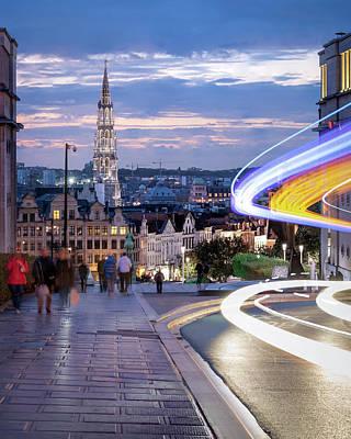 Photograph - Rue Montagne De La Cour, Brussels by Chase This Light Photography