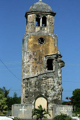 Beer Blueprints - Ruins of San Jose Church, Tinian  by On da Raks