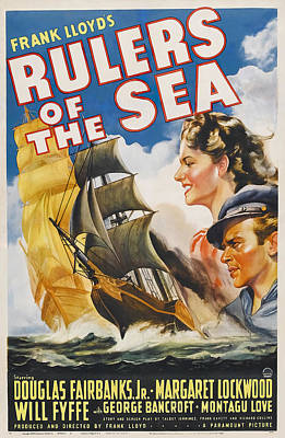 Royalty-Free and Rights-Managed Images - Rulers of the Sea, with Douglas Fairbanks, Jr., 1939 by Stars on Art