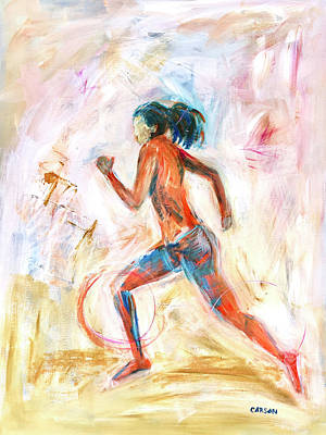 Painting - Runner I by Susan Carson