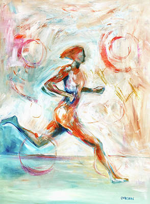 Painting - Runner II by Susan Carson