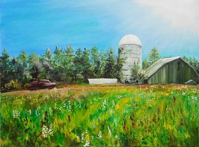 Painting - Rural Bypass by Susan E Hanna