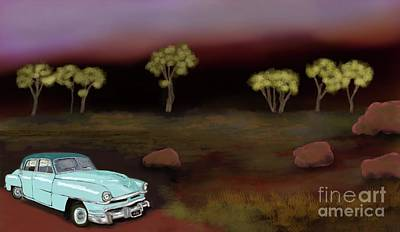 Transportation Digital Art - Rural Dreams 2 by Julie Grimshaw