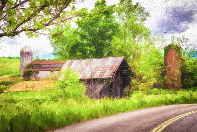 Whimsically Poetic Photographs - Rural Route by Jim Love