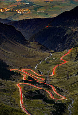 Sports Illustrated Covers - Rush hour on Transfagarasan pass in Romania. by George Afostovremea