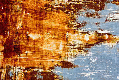 School Teaching - Rust sheet steel background by Julien