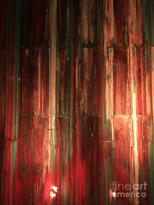 Featured Tapestry Designs - Rusty wall by Micah May