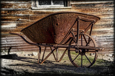 Keith Richards - Rusty Wheelbarrow by Kelley King