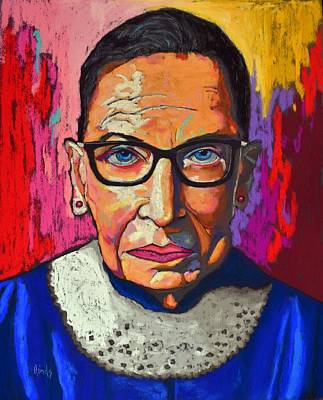 Door Locks And Handles Rights Managed Images - Ruth Bader Ginsburg Royalty-Free Image by David Hinds