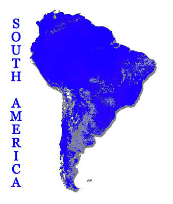 Grateful Dead - South America vertical print, by David Lee Thompson