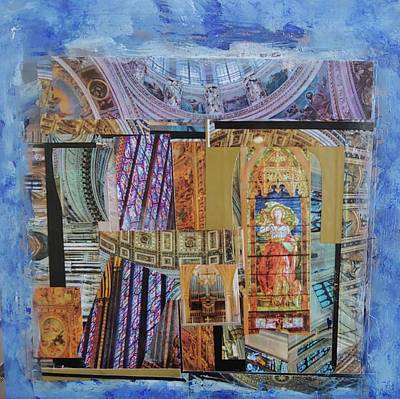Mixed Media - Sacred Places by Rose Cofield