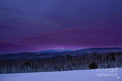 Kim Fearheiley Photography - Dawn Saddleback Mountain by Alana Ranney