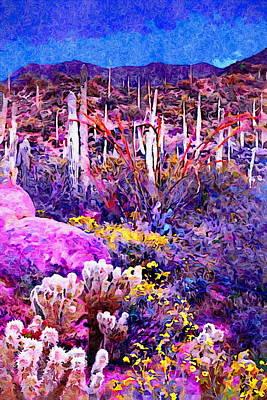 Staff Picks Cortney Herron - Saguaro Cactus at Sunset by Russ Harris