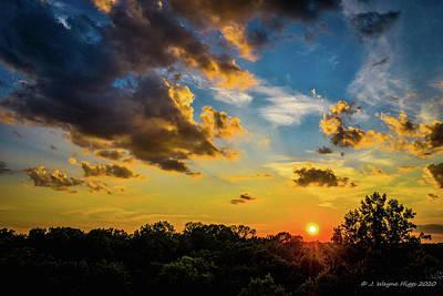 Stellar Interstellar Royalty Free Images - Sahara Dust Sunset Royalty-Free Image by Wayne Higgs
