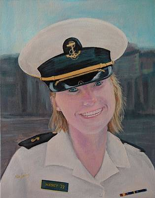Painting - Saige Plebe by Mike Jenkins