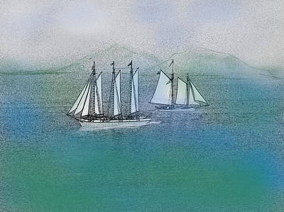 Photograph - Sail away by Jean Evans