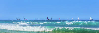 Royalty-Free and Rights-Managed Images - Sailing On The Pacific by Az Jackson