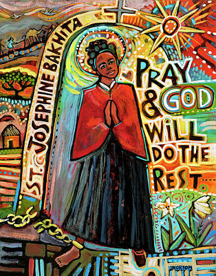 On Trend Breakfast - Saint Josephine Bakhita by Jen Norton