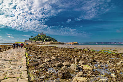 Royalty-Free and Rights-Managed Images - Saint Michaels Mount Cornwall by Betsy Knapp