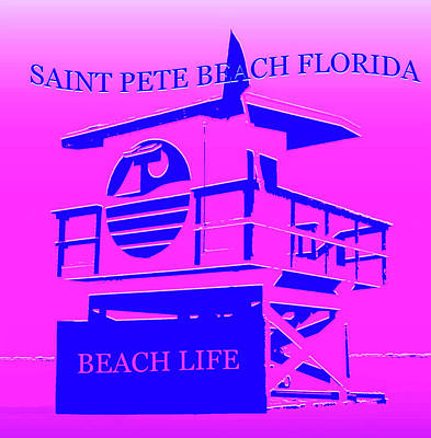 Royalty-Free and Rights-Managed Images - Saint Pete Beach Florida by David Lee Thompson
