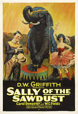 Bringing The Outdoors In - Sally of the Sawdust - 1925 by Stars on Art