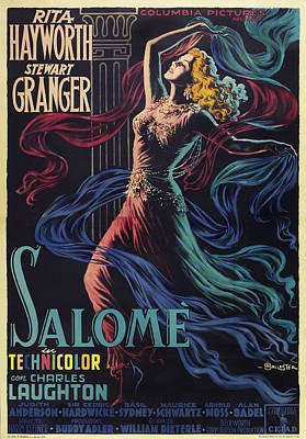 Granger - Salome 4, with Rita Hayworth and Stewart Granger, 1953 by Stars on Art