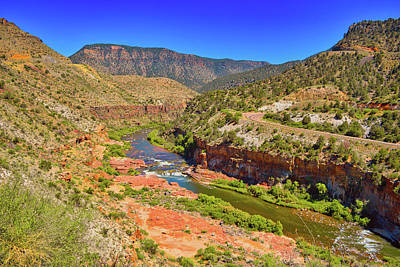 Queen Rights Managed Images - Salt River Canyon Rapids, Arizona  Royalty-Free Image by Chance Kafka