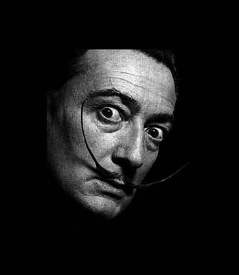 Surrealism Royalty-Free and Rights-Managed Images - Salvador Dali by Vasil Pebe