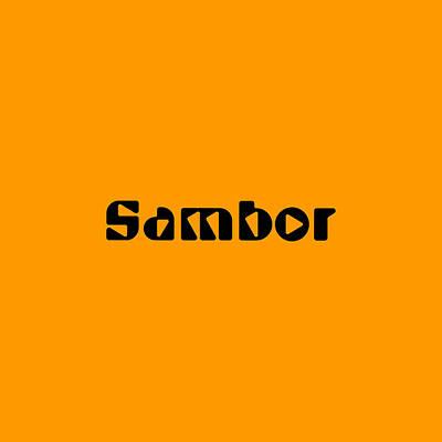 Digital Art - Sambor by TintoDesigns