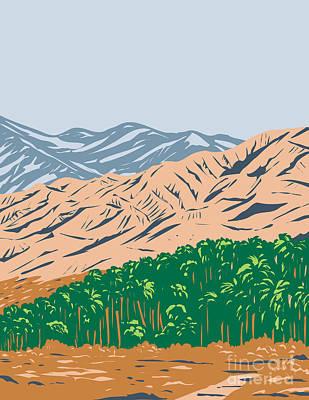 Bicycle Patents - San Bernardino Mountains Mojave Desert and Northwestern Colorado Desert Within Sand to Snow National Monument California United States WPA Poster Art by Aloysius Patrimonio