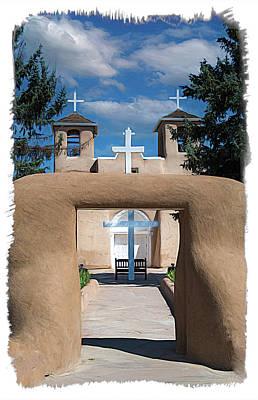 Sean Rights Managed Images - San Francisco de Asis Historic  Church Royalty-Free Image by Debra Martz