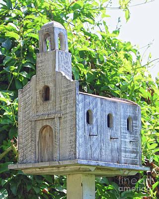 Firefighter Patents - San Juan Capistrano Mission Birdhouse by Catherine Sherman
