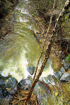 Keith Richards - San Luis Obispo Creek Birds Eye View by Floyd Snyder