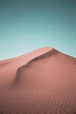 Surrealism Royalty Free Images - Sand Dune, Mesr Desert, Isfahan Province, Iran - Surreal Art by Ahmet Asar Royalty-Free Image by Celestial Images