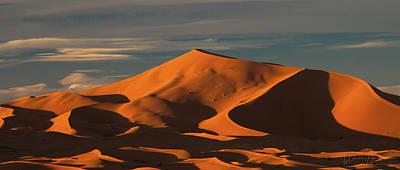 World War Two Production Posters - Sand Dunes, Sahara Desert, Morocco - 3902 by Wally Hampton