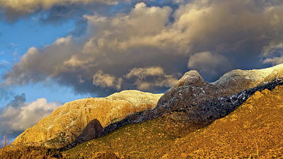 Photograph - Sandia Mountains Shield and Needle by Howard Holley