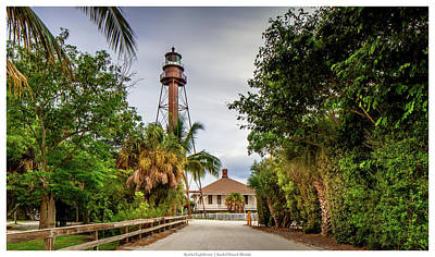 Modern Man Surf - Sanibel Island Lightouse by Kevin Court
