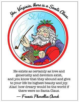 Kitchen Collection Royalty Free Images - Santa Claus Royalty-Free Image by Greg Joens