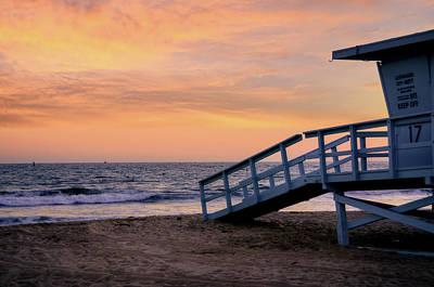 Bicycle Patents - Santa Monica Beach Lifeguard  by Kelly Wade