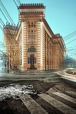 Photograph - Sarajevo City Hall by Bez Dan